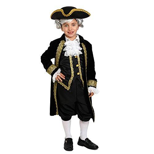 Dress Up America Colonial Costume - George Washington, Alexander Hamilton, Historical Costume for Kids