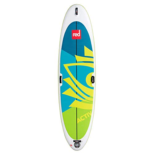 Red Paddle Co 10'8' x 34' Activ Inflatable Stand Up Paddleboard...