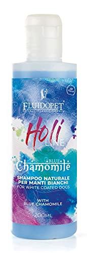 FLUIDOPET Holi Line -Camomilla Blu Shampoo Naturale per Manti Bianchi 200ML
