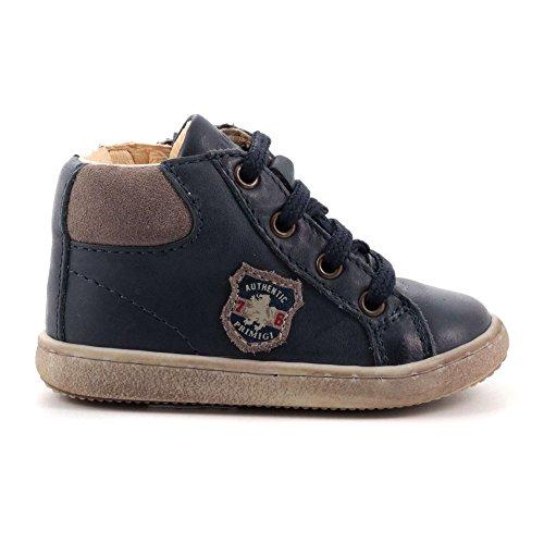 Primigi. Babyschoenen voor jongens halve schoen sneaker veters schoen kip blauw 9035000