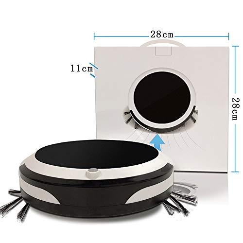 JQRXRQ Robot Aspiradora Robot de Barrido Carga Inteligente del hogar Barrido de succión Arrastre una aspiradora de Barrido automática Tres en uno
