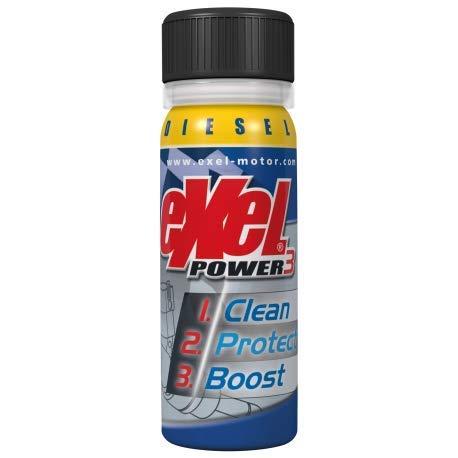 EXEL POWER3® PRÉVENTIF - DieselExel Motor® - Exel Power3® préventif - Diesel - nettoyant Voiture - décalaminant injecteurs et soupapes pour véhicule Diesel - Traitement Moteur - additif Diesel