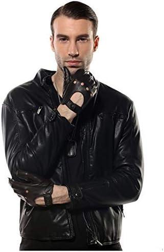 Popular popular Men Genuine Leather store Gloves Wrist Driv Breathable Solid Sheepskin