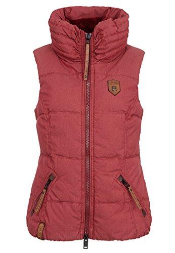Damen Jacke Naketano Bademeister Flavour Jacke, Größe XS, Farbe Bordo