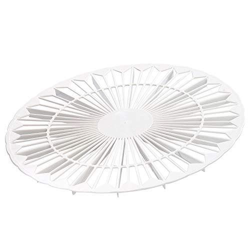 Westmark Kuchenkühler und Torteneinteiler, Doppelfunktion, Rund, Durchmesser: 32 cm, Kunststoff, Weiß, 31432270