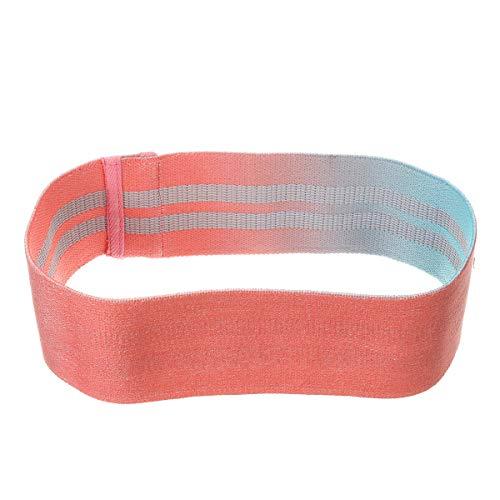 Appoint S/M/L Resistance Bands Leg Squat Yoga Gym Body Exercise Rotation Non-Slip Elastic Band (Color : L)