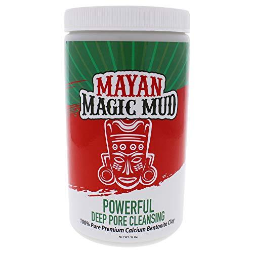 Mayan Magic Mud, Argile Nettoyante Puissante à Pores Profonds, Pour unisexe, 909 g