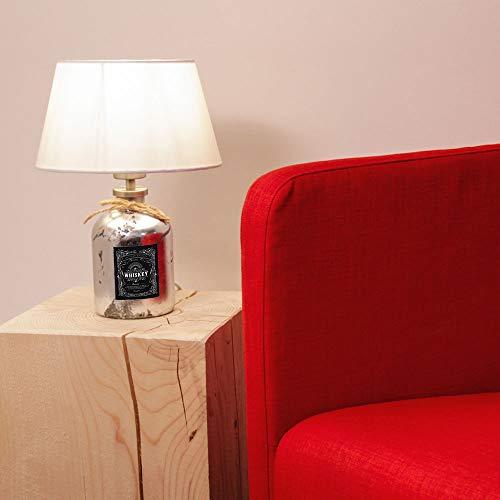 Licht-Trend Pirate2 Tischleuchte mit Whiskey Flasche Flaschenlicht Tischlampe