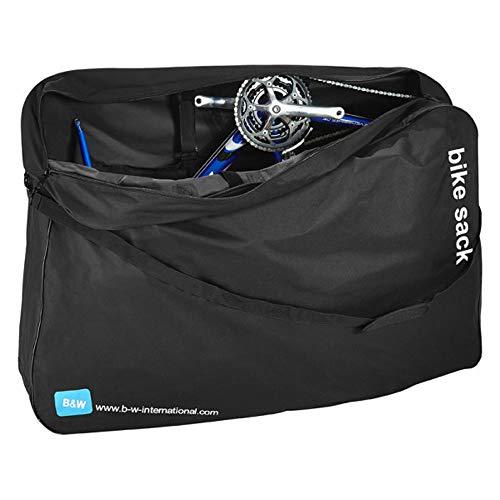 B&W International 96250N Maletín para Bicicleta –Unisex –Color Negro
