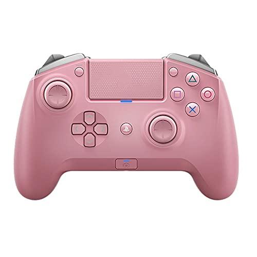 Zexrow Mando para Nintendo Switch, Mando Pro Controller Mando Pc Inalambrico con Función Gyro Axis/Dual Shock Y Turbo Compatible con Nintendo Switch (Color : Pink)