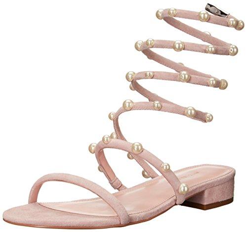 Avec Les Filles Women's Cora Flat Sandal, avec Pink, 10 Medium US
