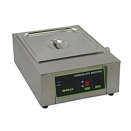 WLIXZ Máquina De Fusión De Chocolate Eléctrica De Capacidad Digital, Temperatura Ajustable,...