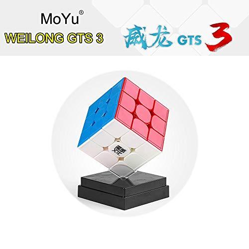 moyu FunnyGoo WeiLong GTS 3 GTS3 Zauberwürfel 3x3x3 Puzzle Cube Stickerless