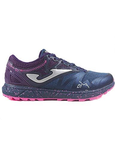 Zapatillas Deportivas para Mujer Joma Sima Lady 917 Gris-Lila - Color - Lila, Talla - 40