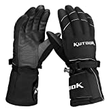 KUTOOK Waterproof Windproof Snowboarding Gloves Ski Snow Gloves for Winter Skiing Cycling Motorbike