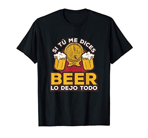Hombre Divertida Idea De Regalo Para Beber Para Amante Cerveza Beer Camiseta