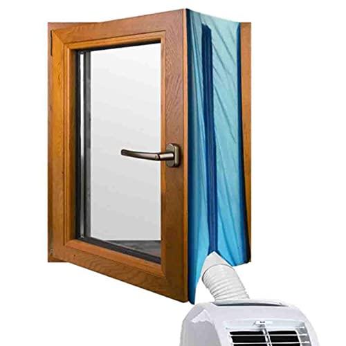 EnweOil Sigillatura Baffle Shield, Condizionatore d'Aria Mobile Copertura con 120 * 80CM, Impermeabile, Facile da Installare Sigillatura Baffle Shield per Condizionatori Portatili
