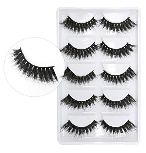 3D 100% 5 Pairs Mink Eyelashes Popular shop is the lowest price challenge Makeup Cils Max 51% OFF Natural Thick Re Faux