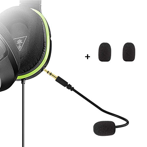 Microfono Sostitutivo da 3,5mm Gioco Mic Boom - PDP Afterglow AG 6 cablato Xbox One Gaming Headset PS4-Turtle Beach Ear Force XO ONE Stealth 420X Recon 320 Z60