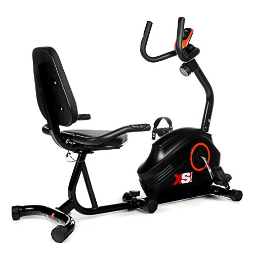 XS Sports B400R ​Magnetic Recumbent Exercise Bike