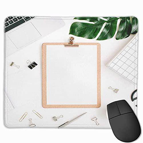 Gaming-Mauspad, Premium-strukturierte Mauspad-Pads, niedliches Mousepad für Spieler, Büro- und Heimarbeitsplätze Laptop-Zwischenablage Palmblatt und Zubehör