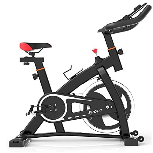 Smart Games Indoor Cycling Bike, Silent Belt Drive Cycle Bike met verstelbare Sturen & Seat, Spiral Variable Speed ​​Adjustment, Sports Smart Game Bike