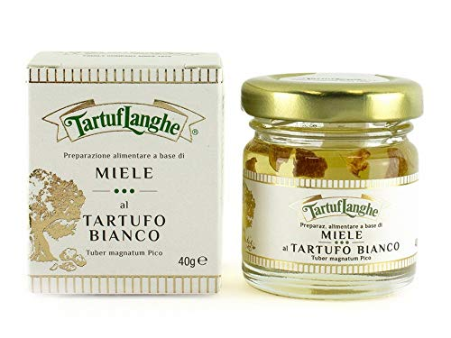 Tartuflanghe Miel con Trufa Blanca, 50ml