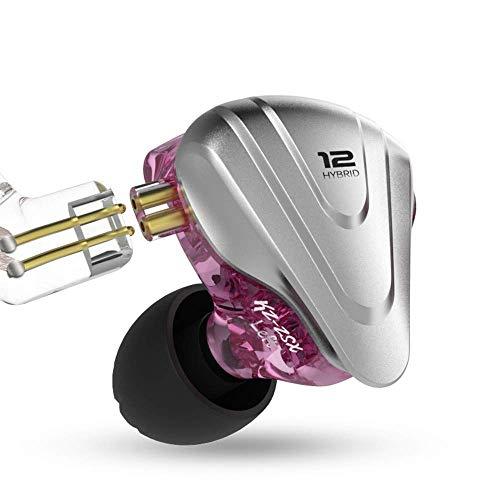 KZ ZSX 5BA + 1DD 6 Driver Híbrido en la oreja los auriculares de alta...