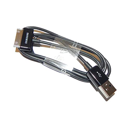 'Samsung 0701806776624 USB Cable de Datos Ecc1Dp0Ub Galaxy Tablet 2 – 7.0/7.7/8.9 Note 10.1 N8010/P5100/P5110/P7500/P7501 Negro