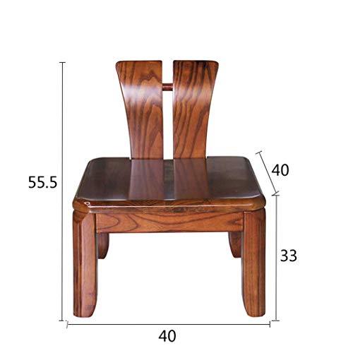 Preisvergleich Produktbild PTERS Holzklappstuhl mit Vinylsitz und Leiterrücken (2er-Pack) (form : A)