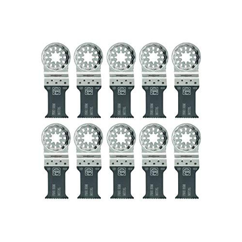 "Fein Bi-Metal 1-3/16 x 2"" Blade - Features Oscillating Blade and StarLock Mount - 10 Pack - 63502157290"