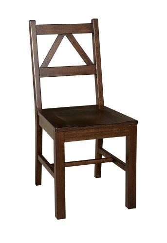 Linon Home Decor Titian Chair, Antique Tobacco Finish