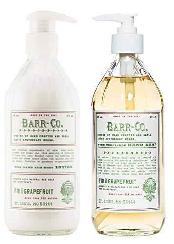 Barr-co. Fir Grapefruit Lotion and Fir & Grapefruit Liquid Hand Soap