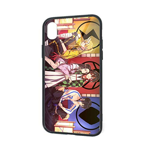 Demon Slayer - Carcasa para iPhone XR, diseño de carcasa de goma TPU para iPhone XR