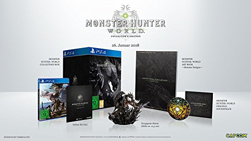 Monster Hunter World - Collector's Edition - [PlayStation 4]