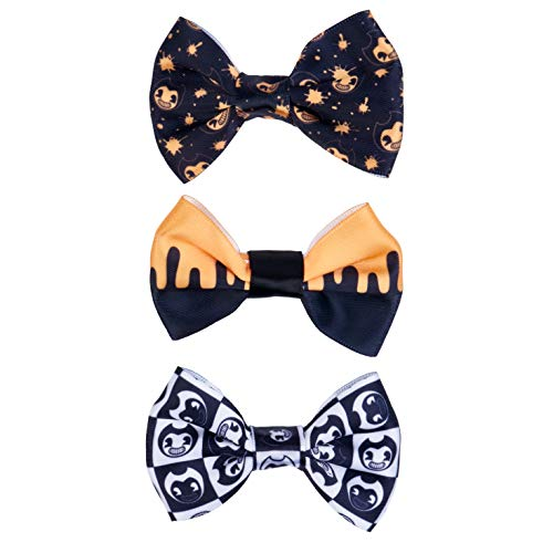 Bendy and the Ink Machine - Bendy Hair Bows (3-Pack)