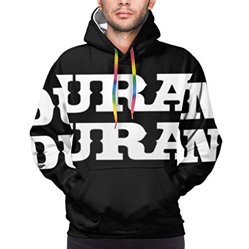 Duran Duran Men's Sweatshirt Fashion Drawstring Hoodie Black