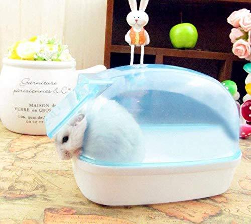 Hpybest Spielbox für Hamster, für Badezimmer, Sauna und Badewanne
