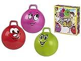 Color Baby, 53713, Balón Saltador Canguro, 46 cm, Colores Surtidos A Elegir 1, Incluye 1 Balón