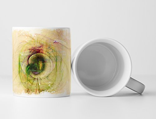 EAU ZONE Design Abstract mok geschenk