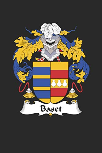 Baset: Baset Coat of Arms and Family Crest Notebook Journal (6 x 9 - 100 pages)