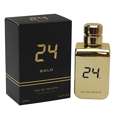 24 Gold The Fragrance by ScentStory Eau De Toilette Spray 3.4 oz for Men by SCENTSTORY