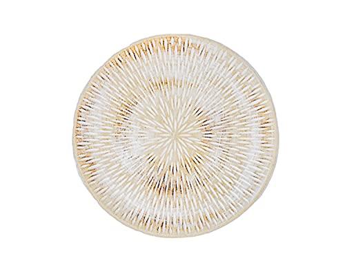 Selldorado® 1x Plato Decorativo de Madera - decoración de Madera Redonda Ø 30 cm para la decoración de Salones, Cocina o jardín - Adecuado como Cuenco Decorativo (V3)