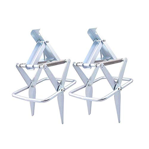 2 Easy Set Mole Trap 2416, Easy One-Step,Out-of-Sight,Galvanized Steel