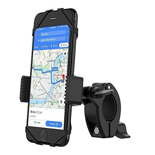 YOSH Handyhalterung Fahrrad Zubehör Handyhalter fürs Fahrrad Motorrad Radsport GPS Universal 360° drehbare für iPhone 11Pro/8/7/6/6s Plus; Samsung S9/S8/S7/S6/S5/A5; Huawei und alle 3,5-6,5 Zoll handy