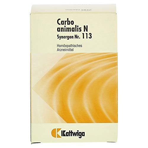 SYNERGON KOMPLEX 113 Carbo animalis N Tabletten 200 St