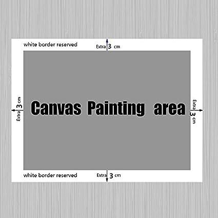 peinture de d/écoration de salle familiale Art abstrait image de caract/ère africain peinture /à lhuile murale image 4