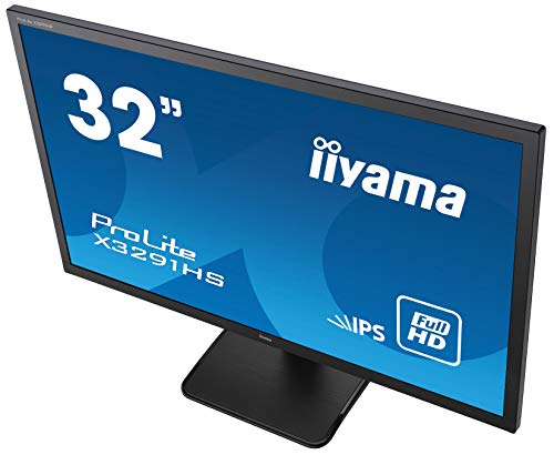『iiyama モニター ディスプレイ X3291HS-B1 (31.5インチ/フルHD/AH-IPS/HDMI,D-sub,DVI-D/3年保証)』の4枚目の画像