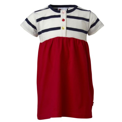 Lego Wear - Robe - Bb Fille - Rouge (350 Red) - FR : 12 mois (Taille fabricant : 80)