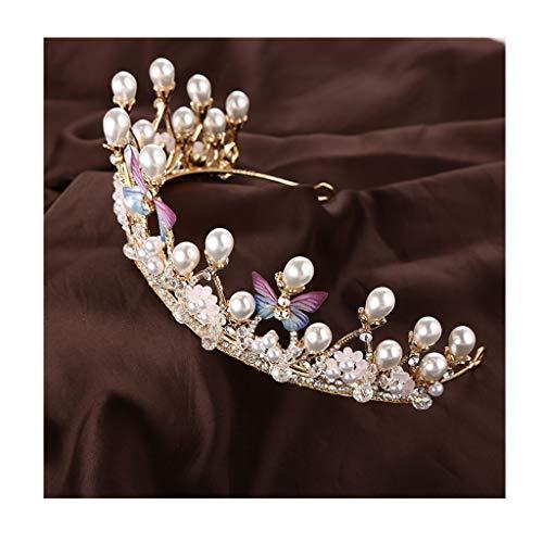 Headdress Crystal Crown Meisje Hoofdband Feestelijke Garland Dames Haaraccessoires Dress Wear